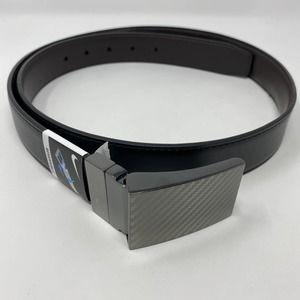 Nike Carbon Fiber Plaque Reversible Belt in Black